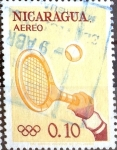 Sellos de America - Nicaragua -  Intercambio nfxb 0,20 usd 10 cent. 1963