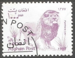 Stamps Afghanistan -  Panthera leo- leon