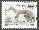 Stamps : Asia : Afghanistan :  Vulpes vulpes-zorro rojo