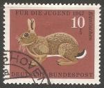 Sellos del Mundo : Europa : Alemania : Kaninchen-Conejo