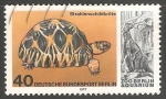 Sellos del Mundo : Europa : Alemania : strahlenschildkröte-tortuga radiada