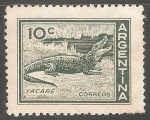 Sellos del Mundo : America : Argentina : Yacare