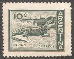 Sellos de America - Argentina -  Yacare