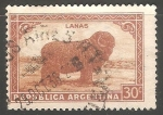 Sellos de America - Argentina -  Oveja-Lanas