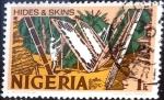 Stamps : Africa : Nigeria :  Intercambio 0,20 usd 1 k. 1973