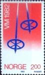 Sellos de Europa - Noruega -  Intercambio 0,75 usd 2,00 k. 1982