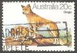 Stamps Australia -  Dingo-lobo