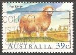 Stamps Australia -  Poll dorset-ovejas