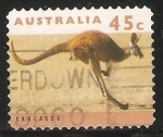 Sellos de Oceania - Australia -   kangaroo-Canguro