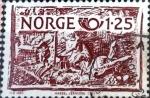 Sellos de Europa - Noruega -  Intercambio 0,20 usd 1,25 k. 1980