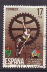 Sellos de Europa - España -  campeonato mundial de ciclismo