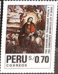 Sellos del Mundo : America : Perú : Intercambio 1,50 usd 70 cent. 1991