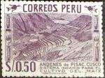 Stamps Peru -  Intercambio 0,20 usd 0,50 s. 1957