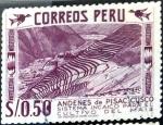 Stamps of the world : Peru :  Intercambio 0,20 usd 0,50 s. 1960
