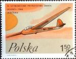 Stamps Poland -  Intercambio crxf 0,20 usd  1,50 z. 1968