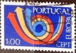 Sellos del Mundo : Europa : Portugal : Intercambio 0,20 usd 1 e. 1973