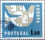 Sellos del Mundo : Europa : Portugal : Intercambio 0,20 usd 1 e. 1963