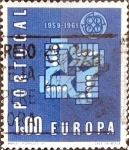 Sellos de Europa - Portugal -  Intercambio 0,20 usd 1 e. 1961