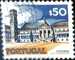 Sellos de Europa - Portugal -  Intercambio 0,20 usd 50 cent. 1972