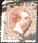 Stamps : America : Puerto_Rico :  Intercambio jxi 0,20 usd 1 cent. 1892