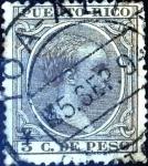 Stamps : America : Puerto_Rico :  Intercambio jxi 0,45 usd 3 cent. 1894