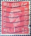 Sellos de Europa - Reino Unido -  Intercambio 0,25 usd 1 p. 1941