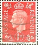 Sellos de Europa - Reino Unido -  Intercambio 0,20'usd 1 p. 1937