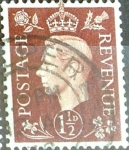 Sellos de Europa - Reino Unido -  Intercambio 0,20 usd  1,5 p. 1937