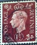 Stamps United Kingdom -  Intercambio 0,20 usd  1,5 p. 1937