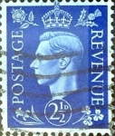 Sellos de Europa - Reino Unido -  Intercambio 0,20 usd 2,5 p. 1937