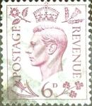 Stamps United Kingdom -  Intercambio 0,65 usd 6 p. 1939
