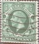 Stamps United Kingdom -  Intercambio 0,60 usd 1/2 p. 1934