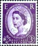 Sellos de Europa - Reino Unido -  Intercambio 0,65 usd 3 p. 1952