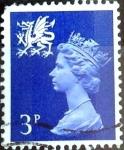 Sellos del Mundo : Europa : Reino_Unido :  Intercambio 0,20 usd 3 p. 1971
