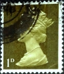 Stamps United Kingdom -  Intercambio 0,20 usd 1 p. 1967
