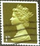 Sellos de Europa - Reino Unido -  Intercambio 0,20 usd 1 p. 1967