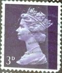 Sellos de Europa - Reino Unido -  Intercambio 0,20 usd 3 p. 1967