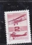 Stamps Hungary -  avioneta