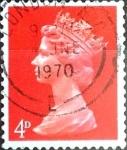 Sellos de Europa - Reino Unido -  Intercambio 0,20 usd 4 p. 1969