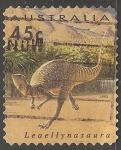 Sellos del Mundo : Oceania : Australia : Leaellynasaura- dinosaurio