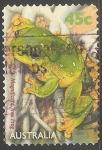 Sellos de Oceania - Australia -  Magnificent tree frog-rana arborícola