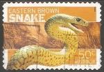 Sellos de Oceania - Australia -  Snake-Serpiente
