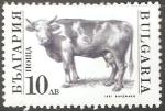 Sellos de Europa - Bulgaria -  Bos primigenius taurus-toro
