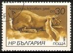 Stamps Bulgaria -  conejo