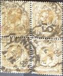 Sellos de Europa - Reino Unido -  Intercambio 14,00 usd 4x1 sh. 1924