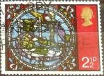 Stamps : Europe : United_Kingdom :  Intercambio 0,20 usd 2,5 p. 1971