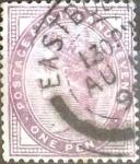 Sellos del Mundo : Europa : Reino_Unido : Intercambio 2,00 usd 1 p. 1881