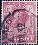 Stamps : Europe : United_Kingdom :  Intercambio 17,50 usd 1 p. 1911
