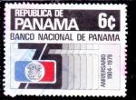Sellos de America - Panamá -  banco nacional de Panama