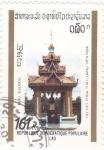 Stamps Laos -  monumento
